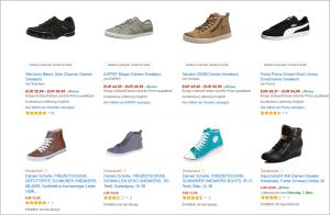 Amazon Gesponserte Produkte