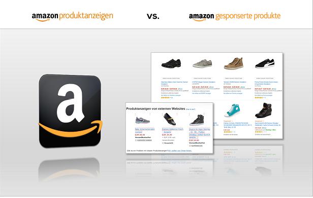 Amazon Produktanzeigen vs Gesponserte Produkte