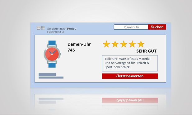 Ratings & Reviews im Datenfeed Marketing