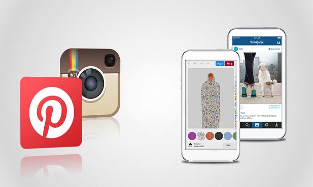 Pinterest und Instagram: Neue Werbeformate für Online-Händler