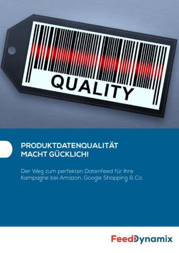 Whitepaper Produktdatenqualität macht glücklich