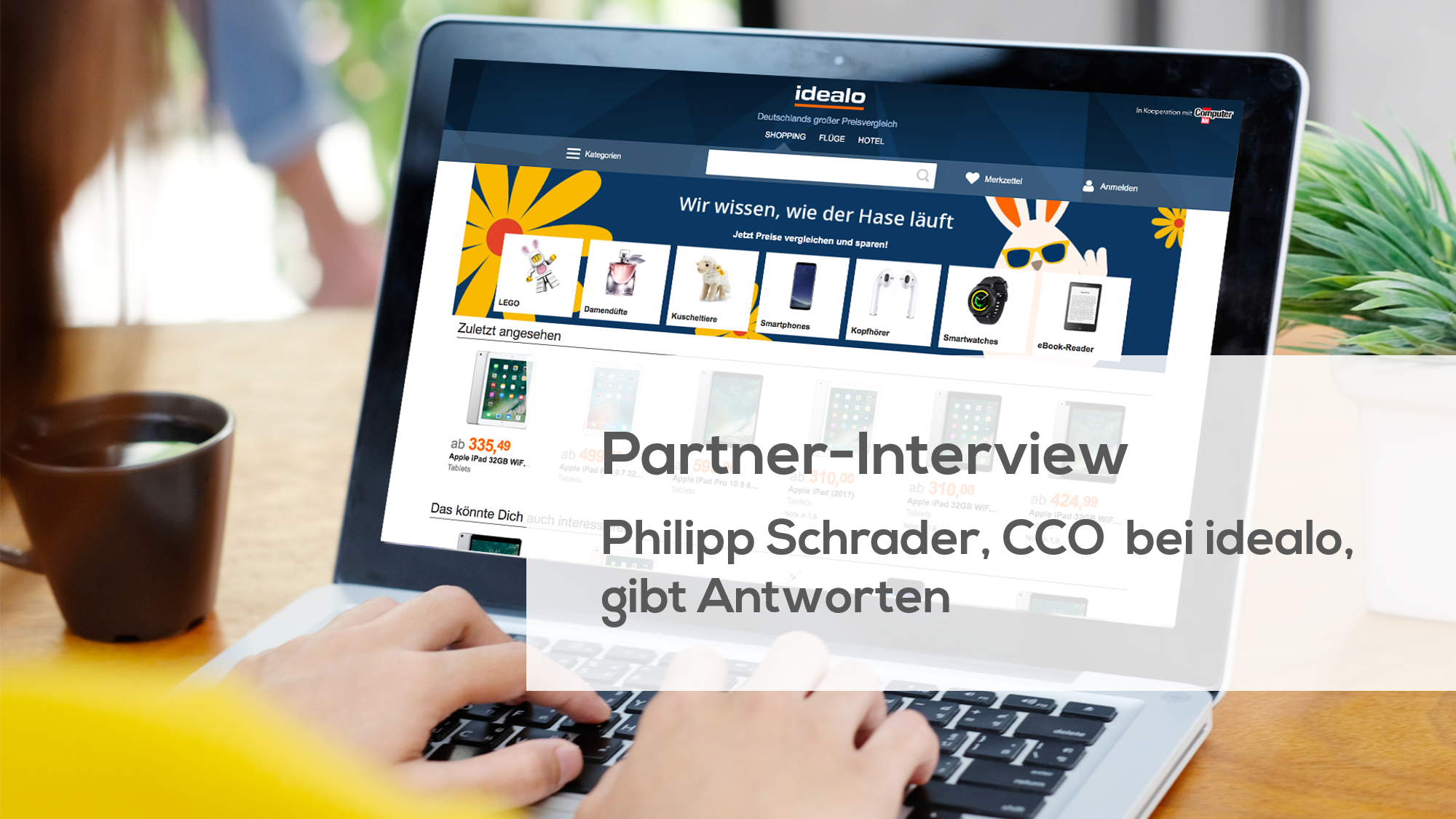 Partner-Interview mit idealo