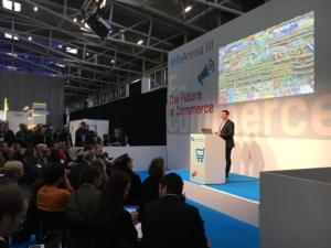 Vortrag von Econda auf der Internet World Expo 2018