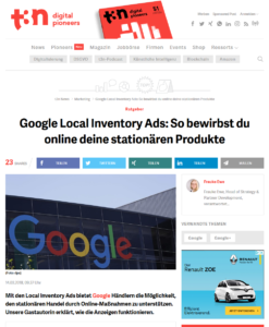 t3n: Google Local Inventory Ads_2018