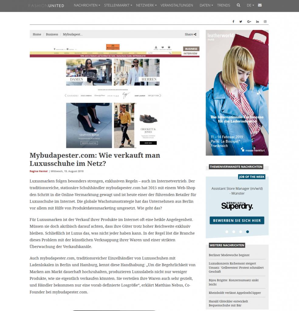 Artikel über Mybudapester.com