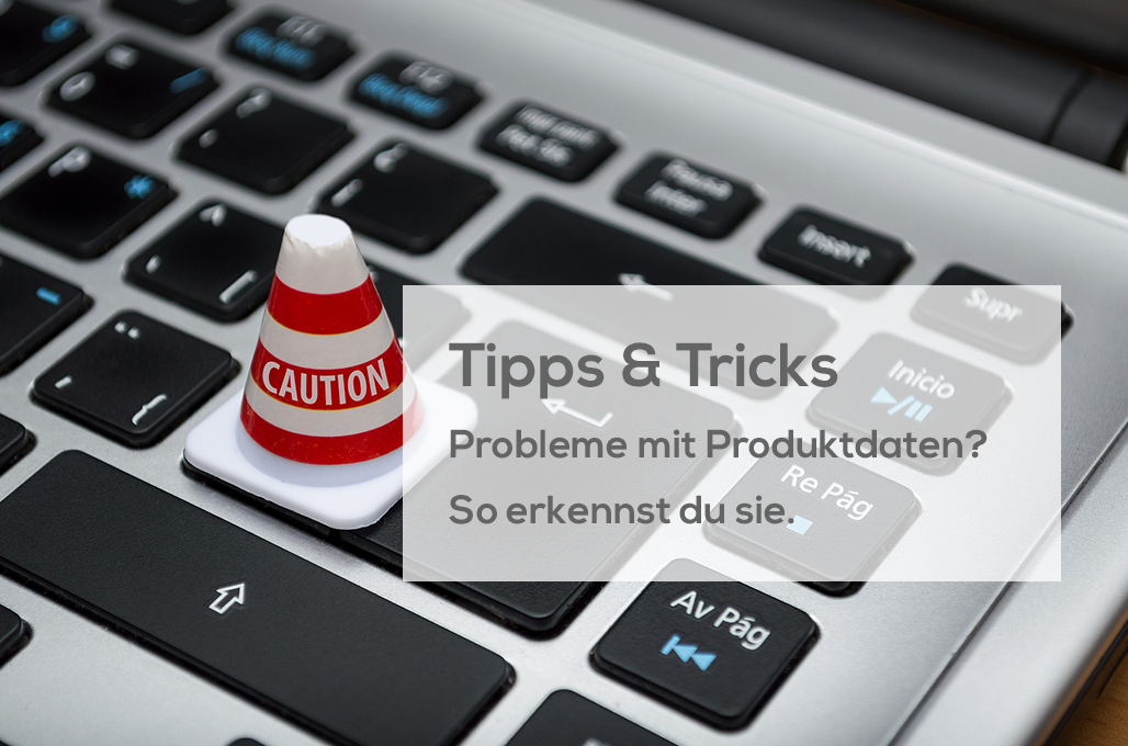Probleme mit Produktdaten